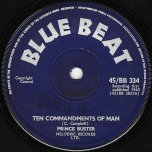 Ten Commandments Of Man / Sting Like A Bee - Prince Buster