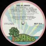 Soul Of Jamaica - Various..Zap Pow..Toots And The Maytals..Boston Jack..The Wailers..Jimmy Cliff