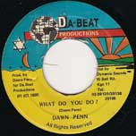 What Do You Do - Dawn Penn