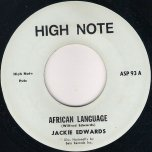 African Language / Ver - Jackie Edwards