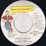 African Soldier - Anthony Redrose