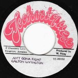 Aint Gonna Fight / Ver - Carlton Livingston