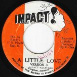A Little Love Version 3 / Version 4 - Doctor Alimantado / Impact All Stars