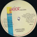 A Man Is A Man / Ver - Ken Boothe