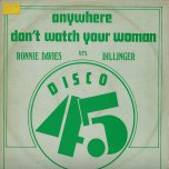 Anywhere / Dont Watch Your Woman / Mr Money Man / Dub Inst - Ronnie Davis / Dillinger / Barry Brown / The Agrovators