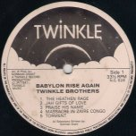 Babylon Rise Again - The Twinkle Brothers