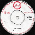 Back Beat / Well Meet - Roland Alphonso / Roy And Millie