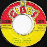 Boy A Love You / Love Gone Forever Ver - Marcia Aitken / Mighty Two