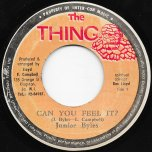 Can You Feel It / I A Feel It Ver - Junior Byles / The Reggae Crusaders