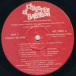 Children Of Babylon - Various..Mighty Diamonds..Beres Hammond..Cynthia Schloss