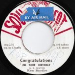 Congratulations On Your Birthday / Ver - Ken Boothe