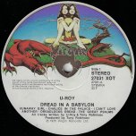 Dread In A Babylon - U Roy