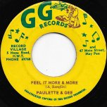 Feel It More And More / Its Been A Long Time - Paulette And Gee / Winston Wright