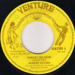 Forget Me Now / Pt 2 - Ronnie Davis