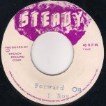 Forward On - I Roy