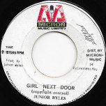 Girl Next Door / Next Door Dub - Junior Byles