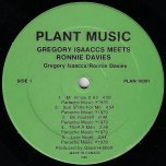 Gregory Isaacs Meets Ronnie Davis - Gregory Isaacs / Ronnie Davis