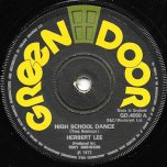 High School Dance / Dance Ver - Herbert Lee / Tonys All Stars