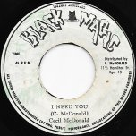 I Need You / Ver - Cecil McDonald