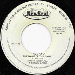 Ife L Ayo (The Name Of The Game) / Holly Holy Ver 2 - Larry McDonald And Denzil Laing / The Fabulous Flames