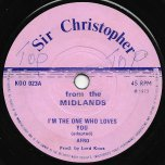 Im The One Who Loves You / Sir Christopher Special   - Afro / Sir Christopher Actually Young Lions
