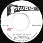 Everybody Plays The Fool / In Love At Last - Jackie Mittoo / The Paragons