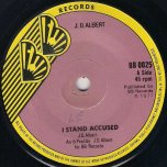 I Stand Accused / Ver - JD Albert