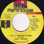 Its Just A Hurting Thing - Jack Radics