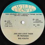 Jah Jah Love Them / In The Oven Baking - Big Youth