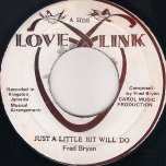 Just A Little Bit Will Do / Too Long In The Dark - Fred Bryan / Fred and Dennis