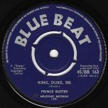 King Duke Sir / I See Them In My Sight - Prince Buster