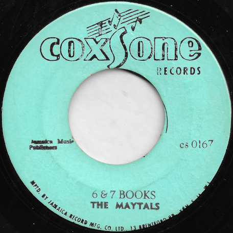 6 And 7 Books / Ill Never Grow Old - The Maytals