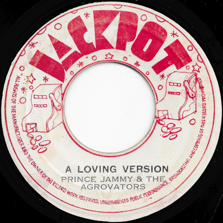 Ain't That Loving You / A Loving Ver - Hortense Ellis / Prince Jammy And The Aggrovators