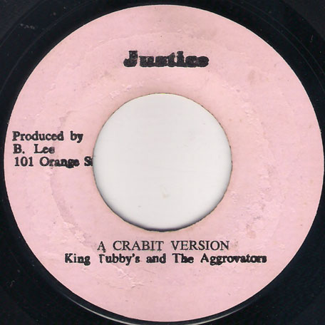 Rock With Me Baby / A Crabit Version - Johnny Clarke / King Tubbys And The Aggrovators