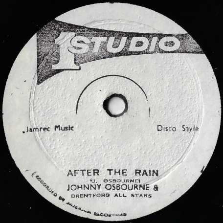Desperate Lover / After The Rain - Bob Andy / Johnny Osbourne And Brentford Road All Stars