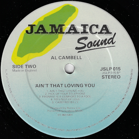 Ain't That Loving You - Al Campbell