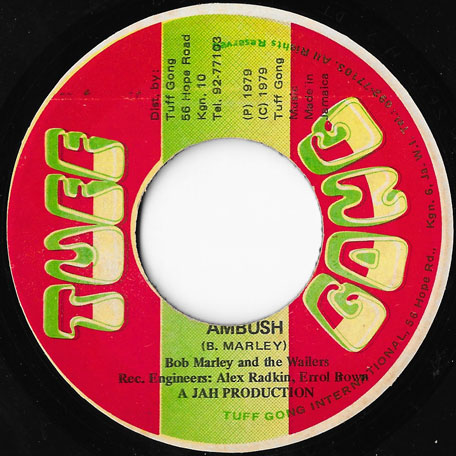 Ambush / Ambush In Dub - Bob Marley And The Wailers