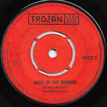Angel Of The Morning / Love Letters - Joya Landis / Alton Ellis And Phyllis Dillon