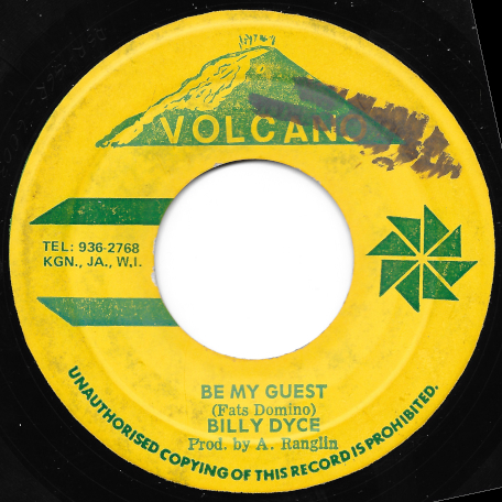 Be My Guest / Way Down In The South - Billy Dyce / Hugh Roy