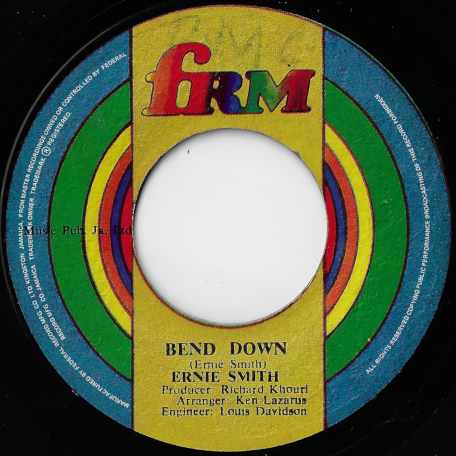 Bend Down / Ver - Ernie Smith