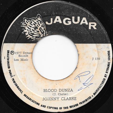 Blood Dunza / Blood Ver - Johnny Clarke / King Tubby