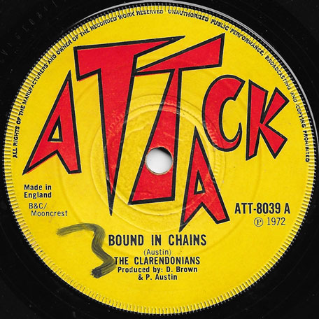 Bound In Chains / Chains Ver - The Clarendonians / Stud All Stars