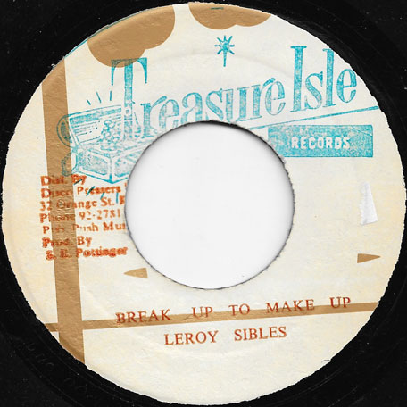 Break Up To Make Up / Part Two - Leroy Sibbles
