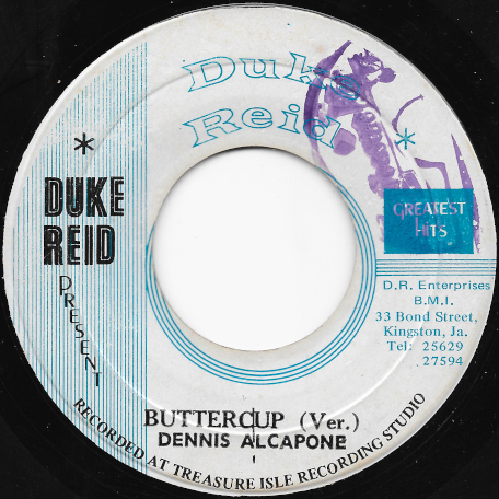The Great Woggie / Buttercup Ver - Dennis Alcapone