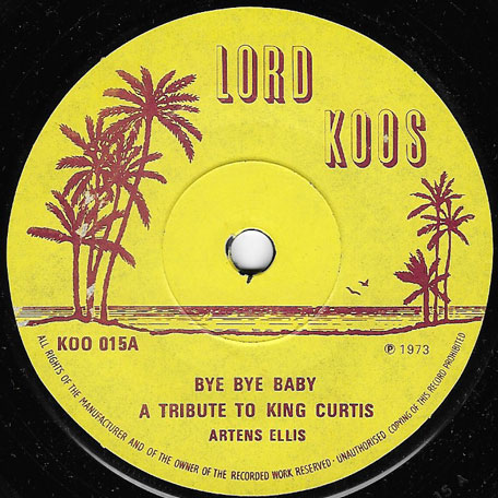 Bye Bye Baby / Sweet Sweet Music - Hortense Ellis / Roy And Dizzie