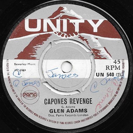 Top The Pop / Capones Revenge - Derrick Morgan / Glen Adams