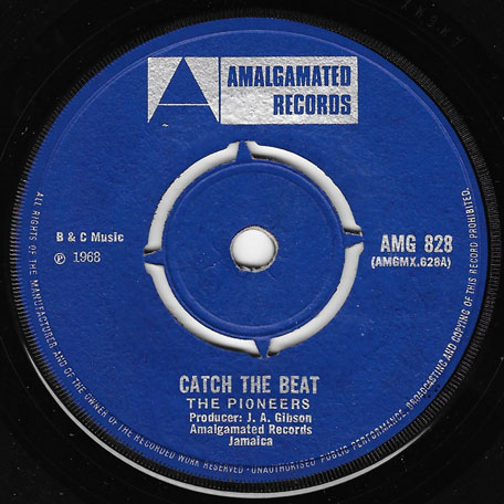Catch The Beat / Jana - The Pioneers