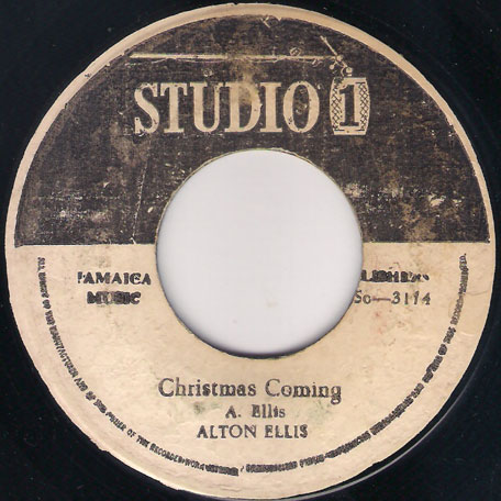 Christmas Coming / Sunday Version - Alton Ellis / Karl Bryan