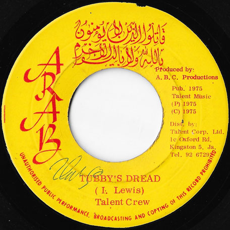 Come On Natty Dread / Tubbys Dread - Joy White / King Tubby