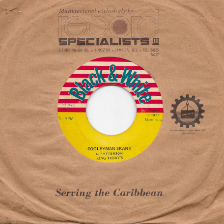 A Cool We Cool / Cooleyman Skank Dub - Gibbs And David / King Tubby